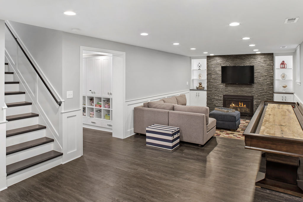 Basement Remodel Upper Arlington Oh The Cleary Company