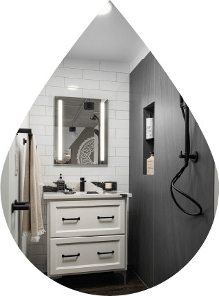 Get information about the scope of work of a bathroom remodel