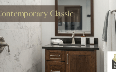 Contemporary Classic design guarantees enduring bath style for years to come