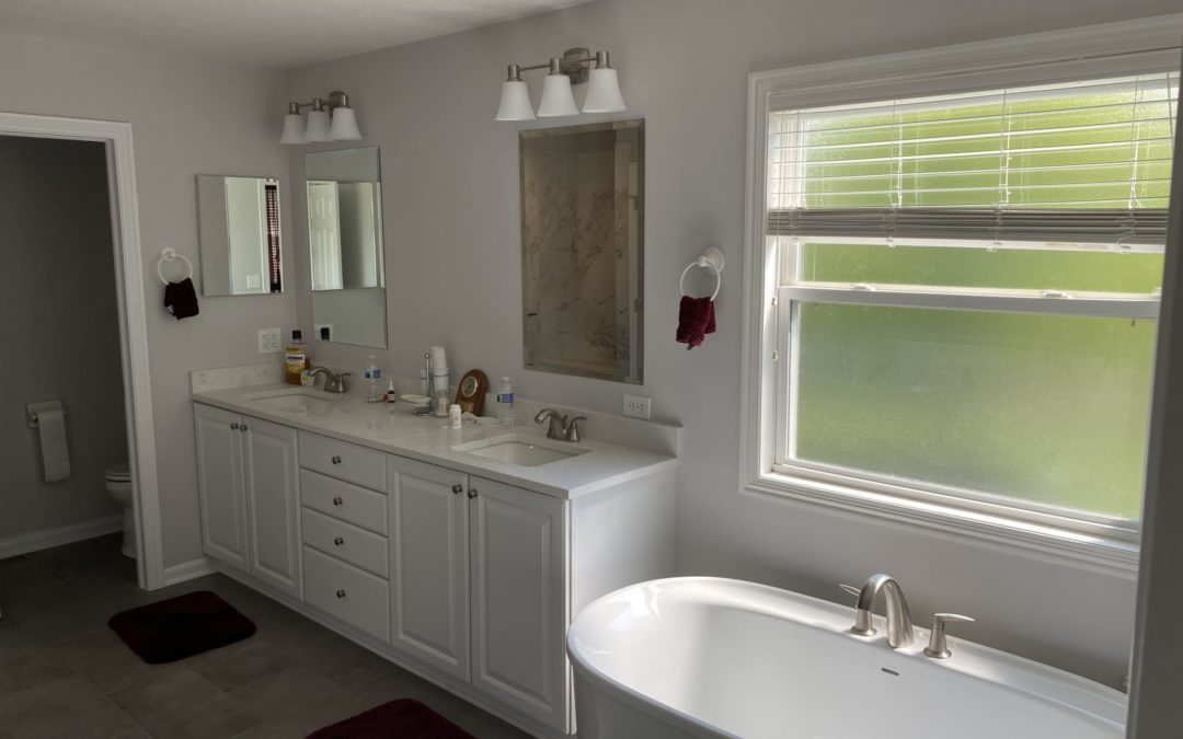 bath2BATH Sign Leads to a Remodeled Bathroom for this Dublin Couple